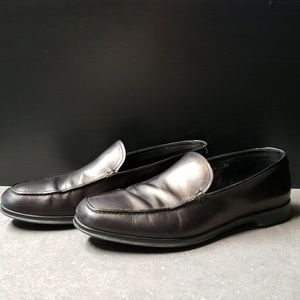Prada slip on loafers.